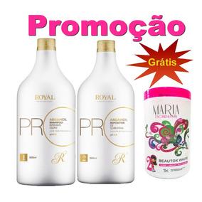 Escova Progressiva Royal Pro Max O Liso Perfeito + Btx Grats