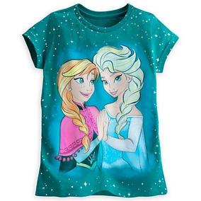 Frozen Elsa Y Anna Polo Niñas Disney. Talla 7/8