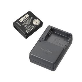 Panasonic Lumix Dmw-zstrv Batería Y Cargador Externo Paquete