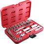 Jogo De Soquetes Multi Lock 3/8 - 6 A 22mm 25pcs Robust