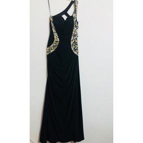 Vestido Noche Negro T-6 (xs) Usa
