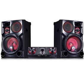 Componente X Boom Lg 3500w Dj Karaoke Bluetooth Cj98