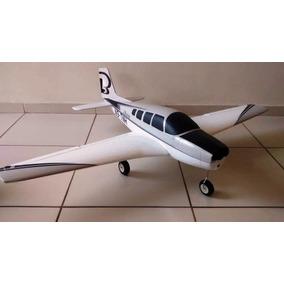 Aeromodelo Bonanza G36 Elétrico Duas Cores Pronta Entrega