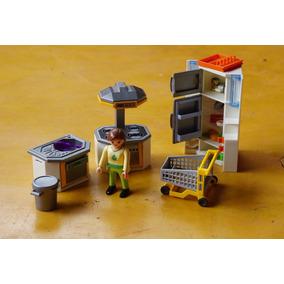 Playmobil Cozinha Casa Familiar