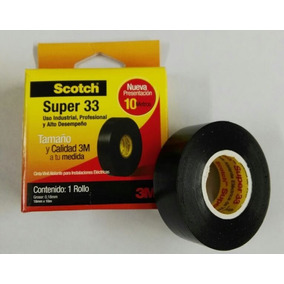 Cinta De Pvc 10 Metros Scotch® Super 33 3310 3m