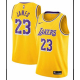 Camisa Nba Los Angeles Lakers Nike Lebrom James 23 437dcb2b1