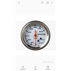 Reloj Doble Aguja Castor Suspension Neumatica
