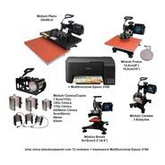 Prensa Termica A3 A4 12em1 Gaveta + Impressora Epson L3150