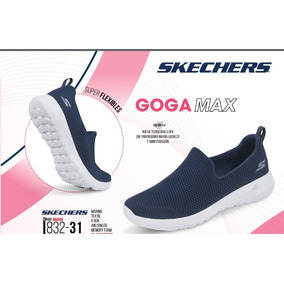 94f8b8a172b13 Tenis Skechers Azul 832-31 Memory Foam air Cooled Dama Goga