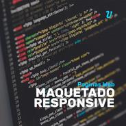 Maquetado Responsive Html5 Css3 Bootstrap Maquetador Web