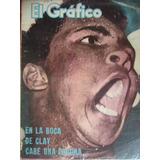 Cassius Clay / El Grafico 2317 De 1964 Independiente Peñarol
