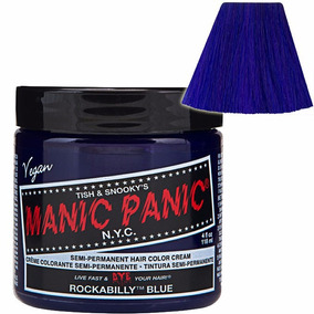 Manic Panic Tinta Semi Permanente Rockabilly Blue N.y.c