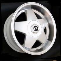 Roda K56 Borbet Aro 15x7,0 Borda Larga Gm Fiat Ford Vw Audi
