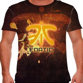 Camiseta League Of Legends Fnatic Masculina