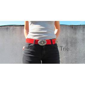 Cinturones De Cuero %100 Vacuno. Diseños Variados Y Talles!