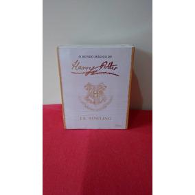 Box Coleção Harry Potter Capa Branca Mundo Mágico (7 Livros)