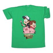 Remera Gravity Falls