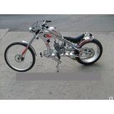 Linda Bicicleta Chopper Motorizada Faz Ate 50km Com Litro