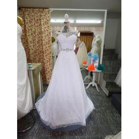 Elegante Vestido De Novia Encaje Escote Corazón Barato