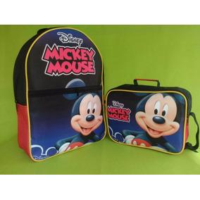 Bolso Escolar Mickey Mouse Para Niño (al Mayor Y Detal)