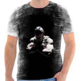 Camiseta Camisa Personalizada Bane Dc Batman Vilão Herói 2