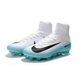 09a27ce51 Nike Mercurial Negro Con Amarillo Tapones - Botines Blanco en ...