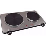 Anafe Electrico Ultracomb - 2 Hornallas - 2250w - Acero Inox