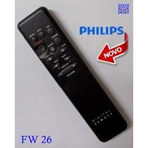 Controle Remoto Micro System Som Philips Fw26 - Fw 26 Novo