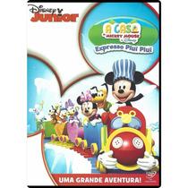 Dvd A Casa Do Mickey Mouse Da Disney - Expresso Piuí Piuí