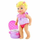 My Little Mommy Aprendiendo A Ir Al Baño Mattel