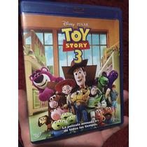 Toy Story 3 Bluray Paquete Disney Pixar Remato Peliculas