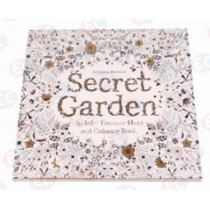 1063 Jardín Secreto Libro P Colorear Mandala Adultos Relax