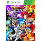 ..:: Dragon Ball Z Battle Of Z ::.. Para X Box 360 En Gamewo