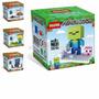 Minecraft Bonecos Mine Blocks Personagens Blocos De Montar