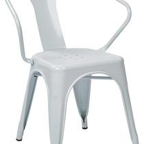 Sillón Office Star Osp Designs 30 Inch Metal In White, 2-p