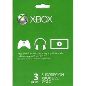 Membresia Xbox Live 3 Meses Pago En Oxxo Directo Zugar Game