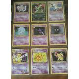 Cartas Pokemon Originales 1era Y 2da Edicion Nuevas