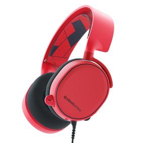 Audífonos Steelseries Arctis 3 Rojo