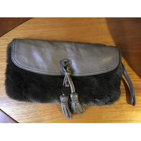 Bolsa Tipo Cartera Juicy Couture Con Piel Original