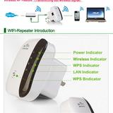 Amplificador Repetidor Inalambrico Wifi 300mbps 802.11