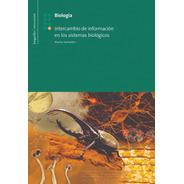 B 8: Intercambio De Informacion En Sist. Bio - Longseller