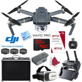 Combo Dron Mavic Pro 2 Baterias Maletin Sd 64gb Visor 3d Dji