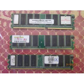 Kit 3 Memorias Pc 3200 Ddr 400\ 512 Mb