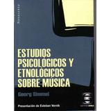 Estudios Psicológicos Y Etnológicos Sobre Música Simmel (go)