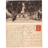Francia 1917 Postal Plaza De La Republica Cote D