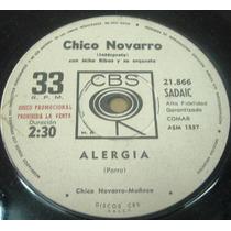 Chico Novarro Alergia Beautiful Juana Vinilo Simple Arg Pro