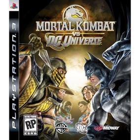 Jogo Mortal Kombat Vs. Dc Universe Para Ps3 - Midway