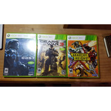 Halo 3, Anarchy Reigns, Re6, Re5, Alan Wake Xbox 360