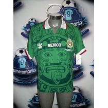 Jersey Selección Méxicana Aba Sport Mexico Mundial Francia98