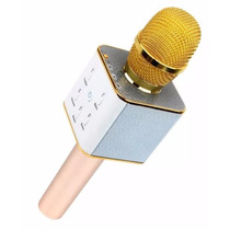 Microfono Karaoke Portatil Con Bocina Integrada Recargable